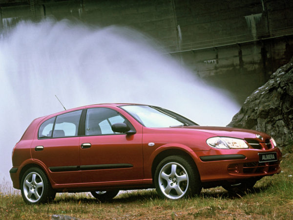 Комплект арок Nissan Almera (N16) (2000 – 2006)
