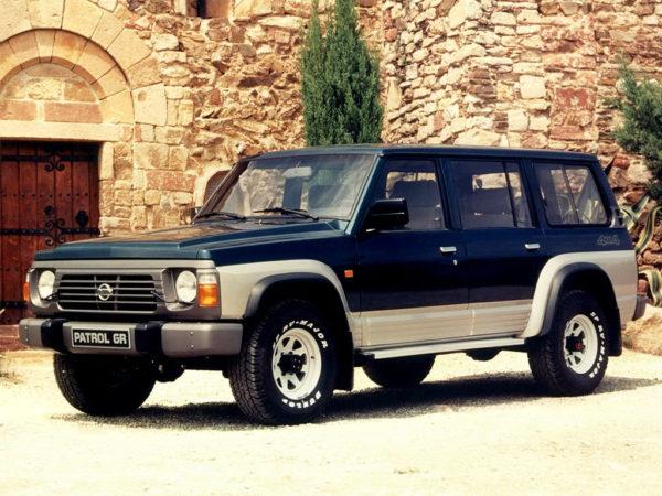 Комплект порогов Nissan Patrol GR I (Y60) (1988 – 1997)