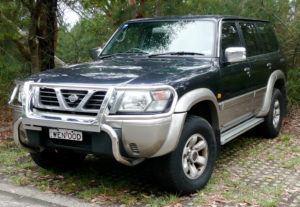 Комплект арок Nissan Patrol (1997-2009)