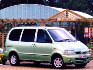 Комплект арок Nissan Serena (C23M) (1991 – 2000)