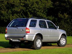 Комплект арок Opel Frontera B (1998-2004)