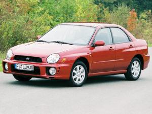 Комплект арок Subaru Impreza 2 (2000-2007)