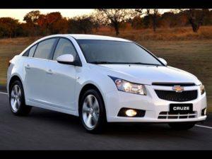 Комплект порогов Chevrolet Cruze