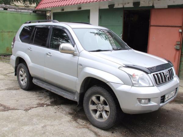 Комплект порогов Toyota Land Cruiser Prado
