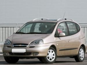 Комплект порогов Chevrolet Rezzo