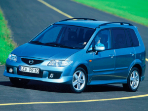 Пороги Mazda Premacy