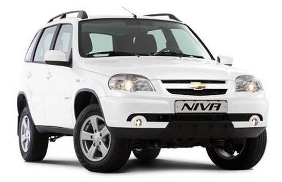 Пороги Chevrolet Niva