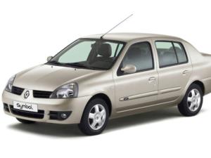 Комплект порогов Renault Symbol