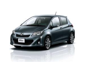 Пороги на Toyota Vitz